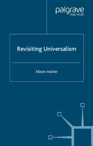 Revisiting Universalism