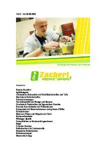 Rezepte aus 'einfach kochen!' Teil-2