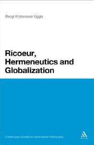 Ricoeur, Hermeneutics, and Globalization (Continuum Studies in Continental Philosophy)