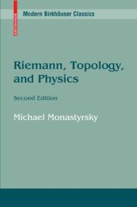 Riemann, topology, and physics (no pp. 195-198)