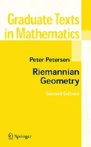 Riemannian geometry (Graduate Texts in Mathematics 171, 2nd Edition)