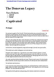 Roberts, Nora - The Donovan Legacy (omnibus) - Captivated, Entranced, Charmed