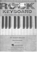 Rock Keyboard - The Complete Guide with CD!: Hal Leonard Keyboard Style Series
