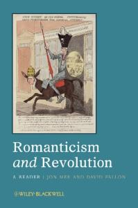 Romanticism and Revolution: A Reader