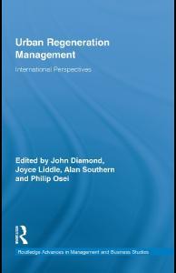 Routledge Urban Regeneration Management