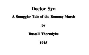 Russell Thornedyke - Doctor Syn