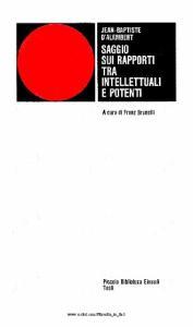 Saggio sui rapporti tra intellettuali e potenti