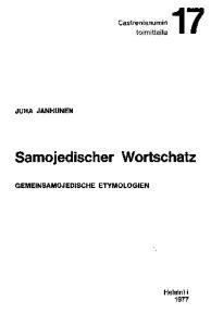 Samojedischer Wortschatz: Gemeinsamojedische Etymologien