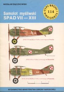 Samolot Mysliwski SPAD VII-XIII