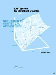 Statistical Graphics in SAS: An Introduction to the Graph