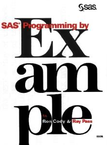 SAS(R) programming by example
