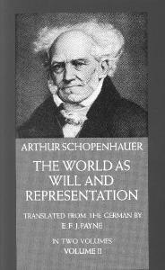 Schopenhauer World as Will and Representation