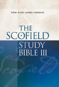 Scofield Study Bible (New King James Version)