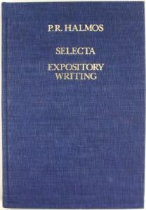 Selecta expository writing