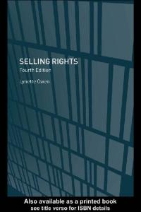Selling Rights, 4th Edition