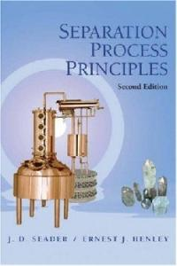 Separation Process Principles 2nd Edition