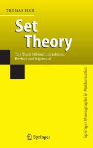 Set Theory, 4th Edition