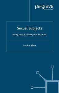 Sexual  Young People, Sexuality and Education