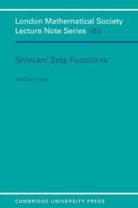 Shintani Zeta functions