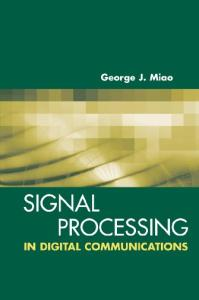 Signal Processing for Digital Communications