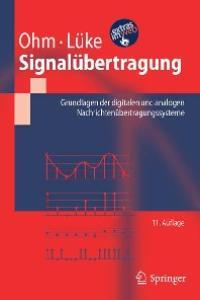 Signalübertragung: Grundlagen der digitalen und analogen Nachrichtenübertragungssysteme
