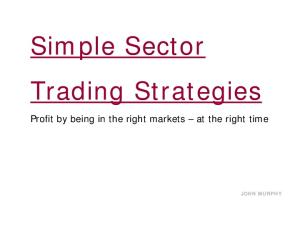 Simple sector trading