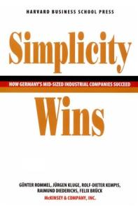 Simplicity wins: how Germany's mid-sized industrial companies succeed