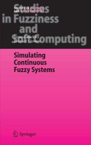Simulating Continuous Fuzzy Systems (Studies in Fuzziness and Soft Computing)