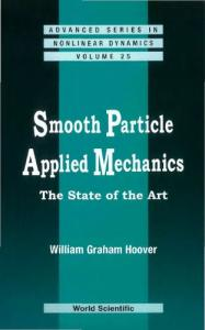 SMOOTH PARTICLE APPLIED MECHANICS The State of the Art