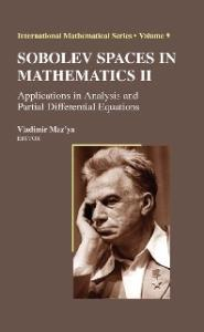 Sobolev Spaces in Mathematics II - Applications in Analysis & Partial Differential Equations