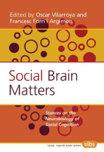 Social Brain Matters: Stances on the Neurobiology of Social Cognition. (Value Inquiry Book)