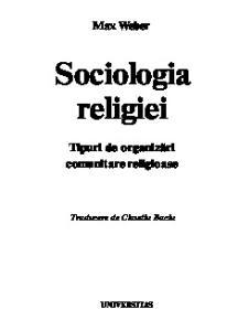 Sociologia religiei