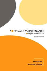 Software Maintenance: Concepts and Practice