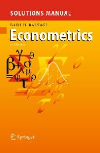 Solutions Manual for Econometrics, Second edition