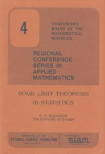 Some limit theorems in statistics