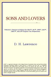 Sons and Lovers (Webster's Thesaurus Edition)