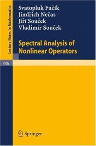 Spectral Analysis of Nonlinear Operators