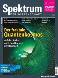 Spektrum der Wissenschaft Februar 2009  issue 02