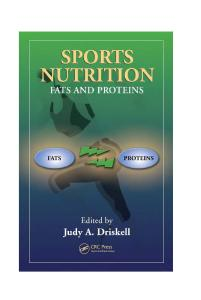 Sports nutrition: fats and proteins