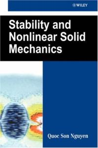 Stability and Nonlinear Solid Mechanics