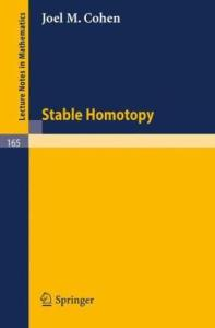 Stable homotopy