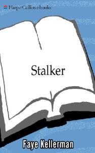 Stalker (The Peter Decker and Rina Lazarus Series - Book 12 - 2000)