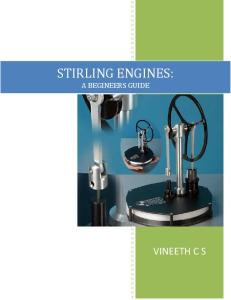 Stirling Engine : A Beginners Guide