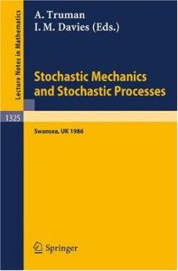 Stochastic Mechanics and Stochastic Processes