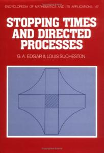 Stopping times and directed processes