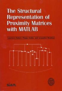 Structural representation of proximity matrices with MATLAB