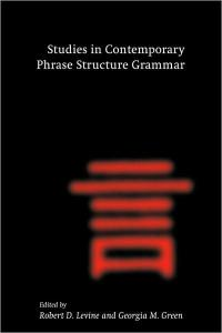 Studies in Contemporary Phrase Structure Grammar