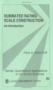 Summated rating scale construction: an introduction