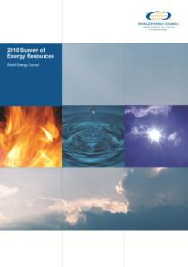 Survey of Energy Resources 2010