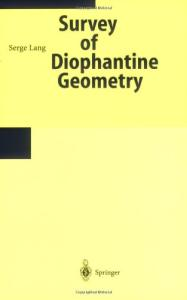 Survey on Diophantine Geometry